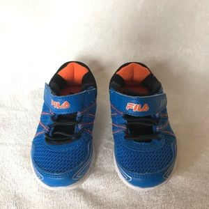 Fila toddler shoes